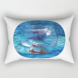 Fish in the Tank Rectangular Pillow