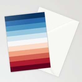 Flag Gradient Stationery Cards