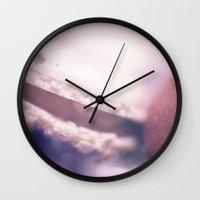 macaron Wall Clocks featuring Macaron 2 by nailafateen