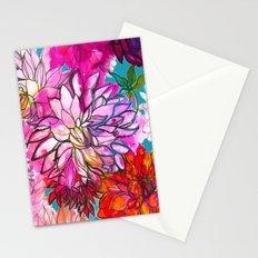 Garden of Dahlias Stationery Cards