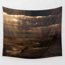 Sunny shower Wall Tapestry