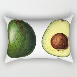 Avacado Sketch Rectangular Pillow