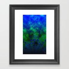 Fractal Ocean I Framed Art Print