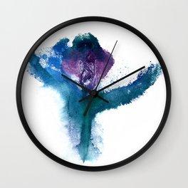 Isabella's Tulip Wall Clock