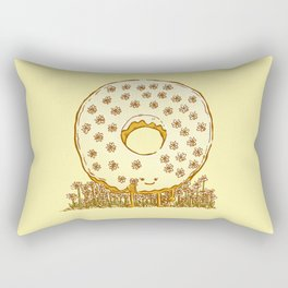 In Bloom Donut Rectangular Pillow