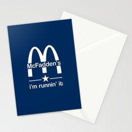 McFadden's - i'm runnin' it Stationery Cards