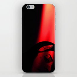 Red candel light iPhone Skin