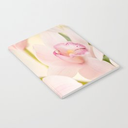 Orchid Flower Bouquet On A Light Background #decor #society6 #homedecor Notebook