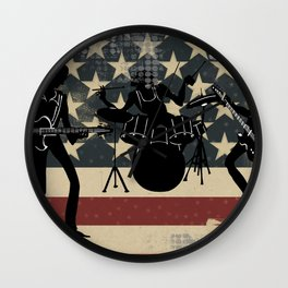 Rock America Wall Clock