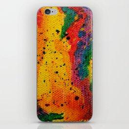 Rainbow Abstract #17 iPhone Skin