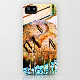 The mind can read what words cannot convey iPhone Case