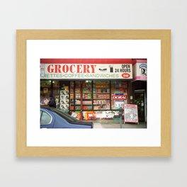 Brooklyn Storefront 2001 Framed Art Print