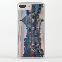 Saint Peter's Basilica at Sunset Clear iPhone Case
