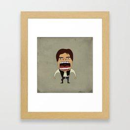 Screaming Han Solo Framed Art Print
