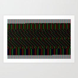 TV CRT Art Print