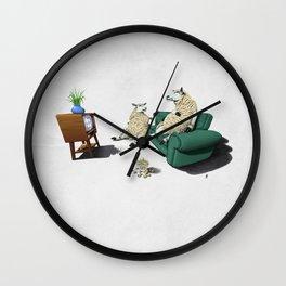 Sheep (Wordless) Wall Clock