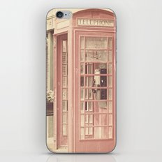 London is calling my name iPhone & iPod Skin