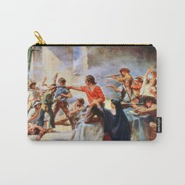 Battle of the Alamo by Percy Moran (1912) Carry-All Pouch