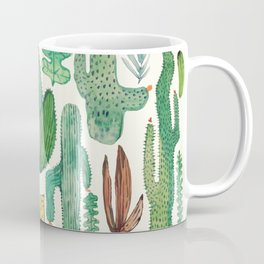 nature pattern collab. Coffee Mug