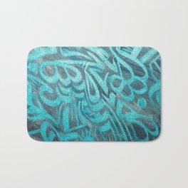 blue Rapping Bath Mat