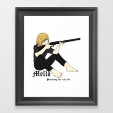 Child Mello Framed Art Print