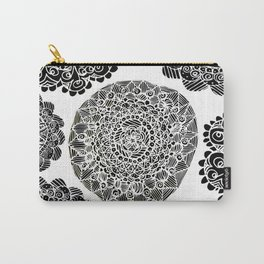Mandala Mazes Carry-All Pouch