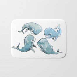 Whale talk Bath Mat