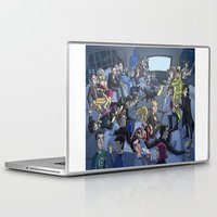 tv Laptop & iPad Skins featuring TV by Anna Rettberg