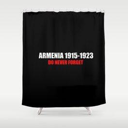 Commemoration Armenia 1915 Shower Curtain