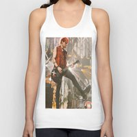 michael clifford Tank Tops featuring Clifford Michael // Live by Fan_Girl_Designs
