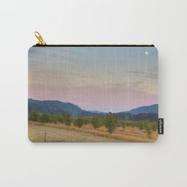 Full Moon over Orchard at Dusk Carry-All Pouch