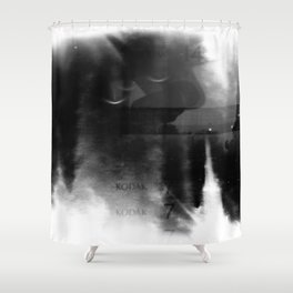 Holga Lucky Numbers Shower Curtain