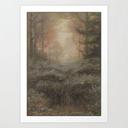 Sir John Everett Millais, Bt Dew-Drenched Furze 1889–90 Art Print