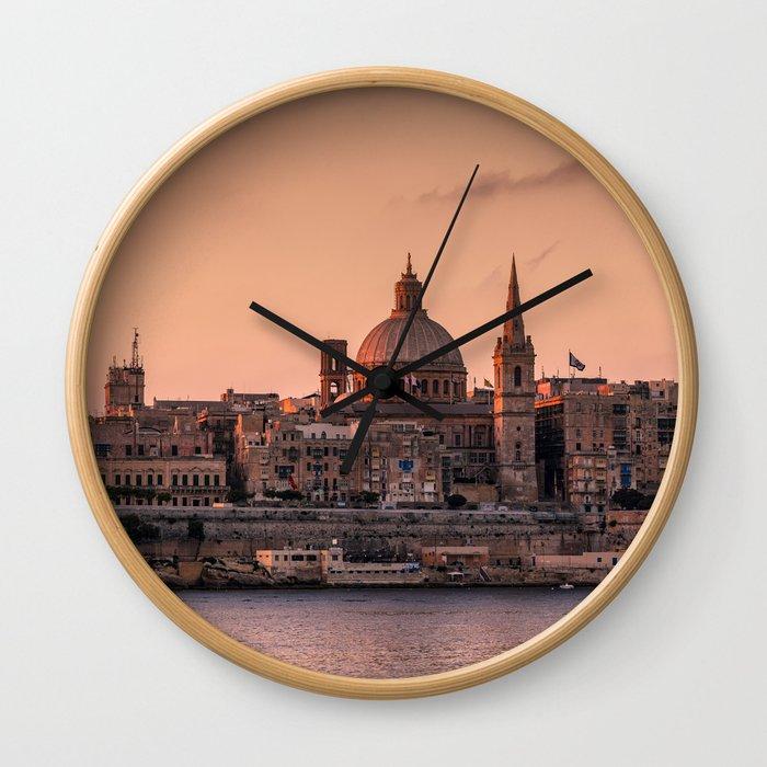 MALTA 01 Wall Clock