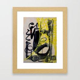 143 Framed Art Print