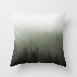 Step Into My Office Throw Pillow