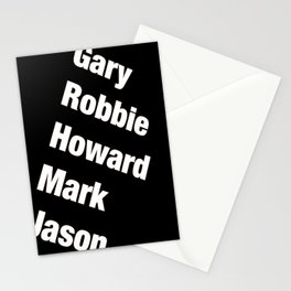 Take That. Band members. Stationery Cards