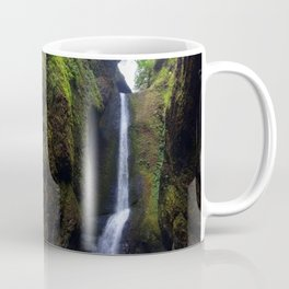Lower Oneonta Falls, Oneonta Gorge, Oregon Coffee Mug