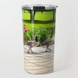 Geese Family Travel Mug
