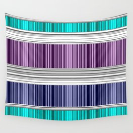 The colorful stripes . Wall Tapestry