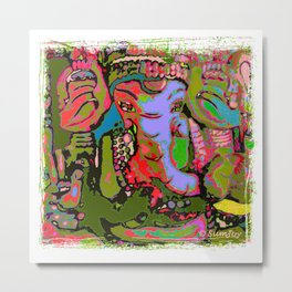 Ganesha (3) SB Metal Print