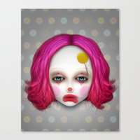 misfits Canvas Prints featuring Misfits - Lulu by Raymond Sepulveda