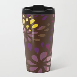 Dark drops Metal Travel Mug