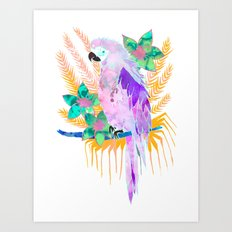 PARROT Elua Style B Art Print