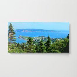 Bonaventure Island panoramic Metal Print