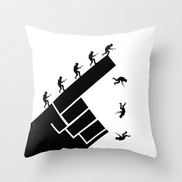 To the arms! Throw Pillow