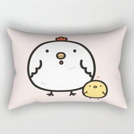 Cute chick and chicken Rectangular Pillow