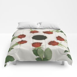 Roses and Coffee Comforters