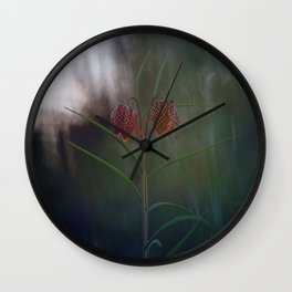 Silent, Happy Morning. Wall Clock