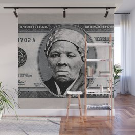 Harriet Tubman Twenty Dollar Bill Wall Mural